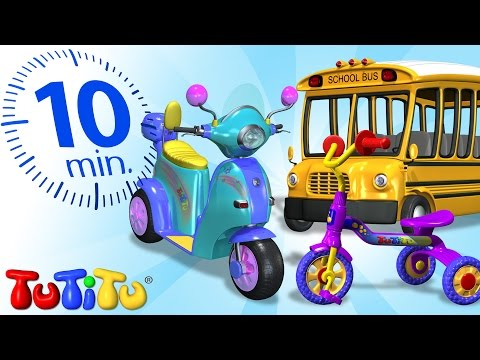 TuTiTu Specials | Wheels | Toys and Songs for Children