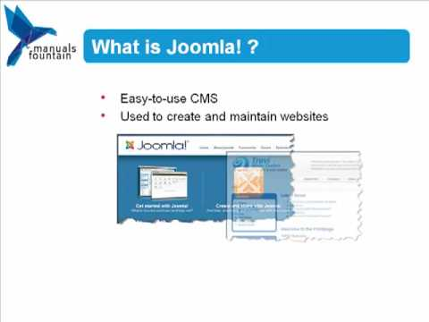 Basic Principles of Joomla