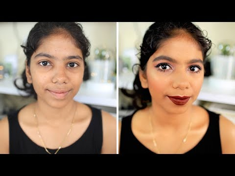 Doing my Subscriber's makeup for College Fresher's Day! #DEBTEMBER Day 5