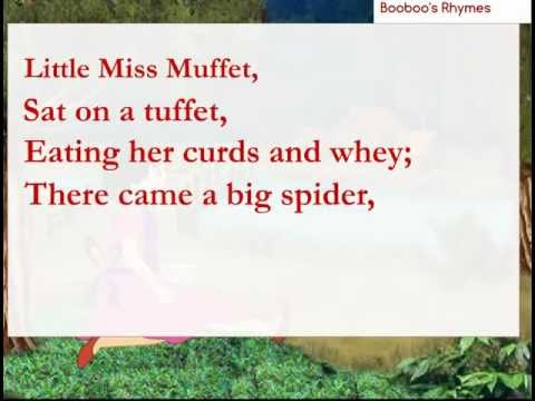 Little Miss Muffet lyrics