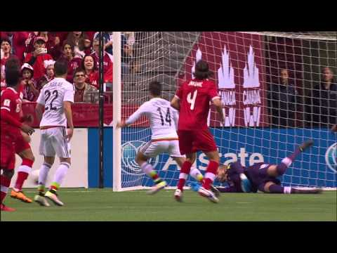 HIGHLIGHTS: Canada 0-3 Mexico