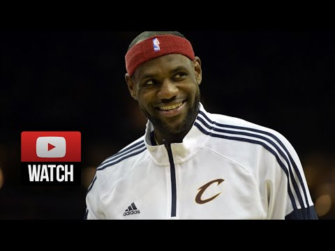Lebron James Full Highlights vs Pacers (2014.10.15) - 26 Pts