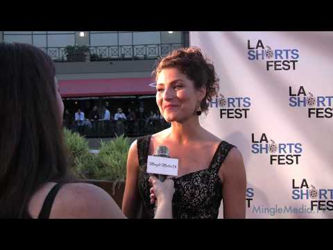 Marisa Petroro Interview at the LA Shorts Fest 2010 Opening Night Red Carpet Video