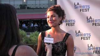 Marisa Petroro Interview at the LA Shorts Fest 2010 Opening Night Red Carpet
