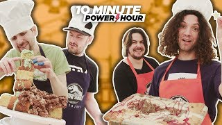 Jurassic Make Off (Sponsored Episode Ft. Yogscast) - 10 Minute Power Hour