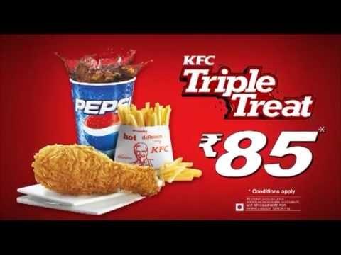 KFC Triple Treat New Advertisement