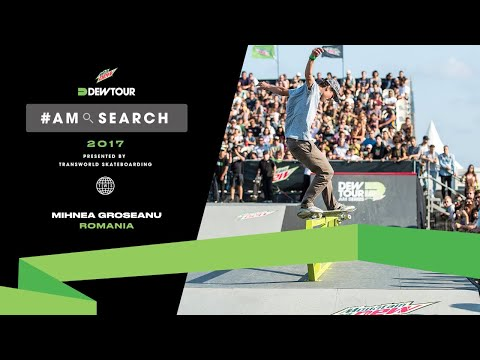 Mihnea Groseanu Interview | Dew Tour Am Series 2017 Barcelona