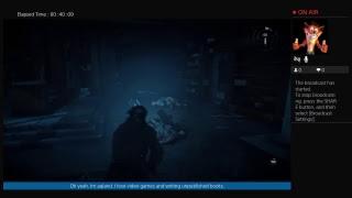 Aqland's Live Rise of the Tomb raider ps4 dlc Lara's nightmare