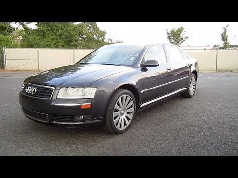 2004 Audi A8 L Start Up. Engine. and In Depth Tour