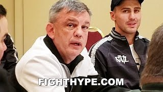 "TEDDY ATLAS PUTS BETERBIEV ON ""BIGGER BITES"" NOTICE; EXPLAINS GVOZDYK GAME PLAN TO DEAL WITH PUNCHER"