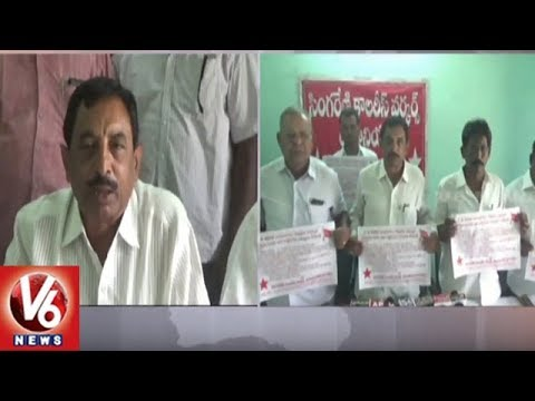 AITUC Leader Seetharamaiah Demands 30% Share For Singareni Workers Welfare | V6 News