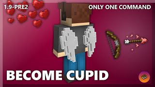 BECOME THE GOD OF LOVE in only one command! [Minecraft 1.9] Valentine Special