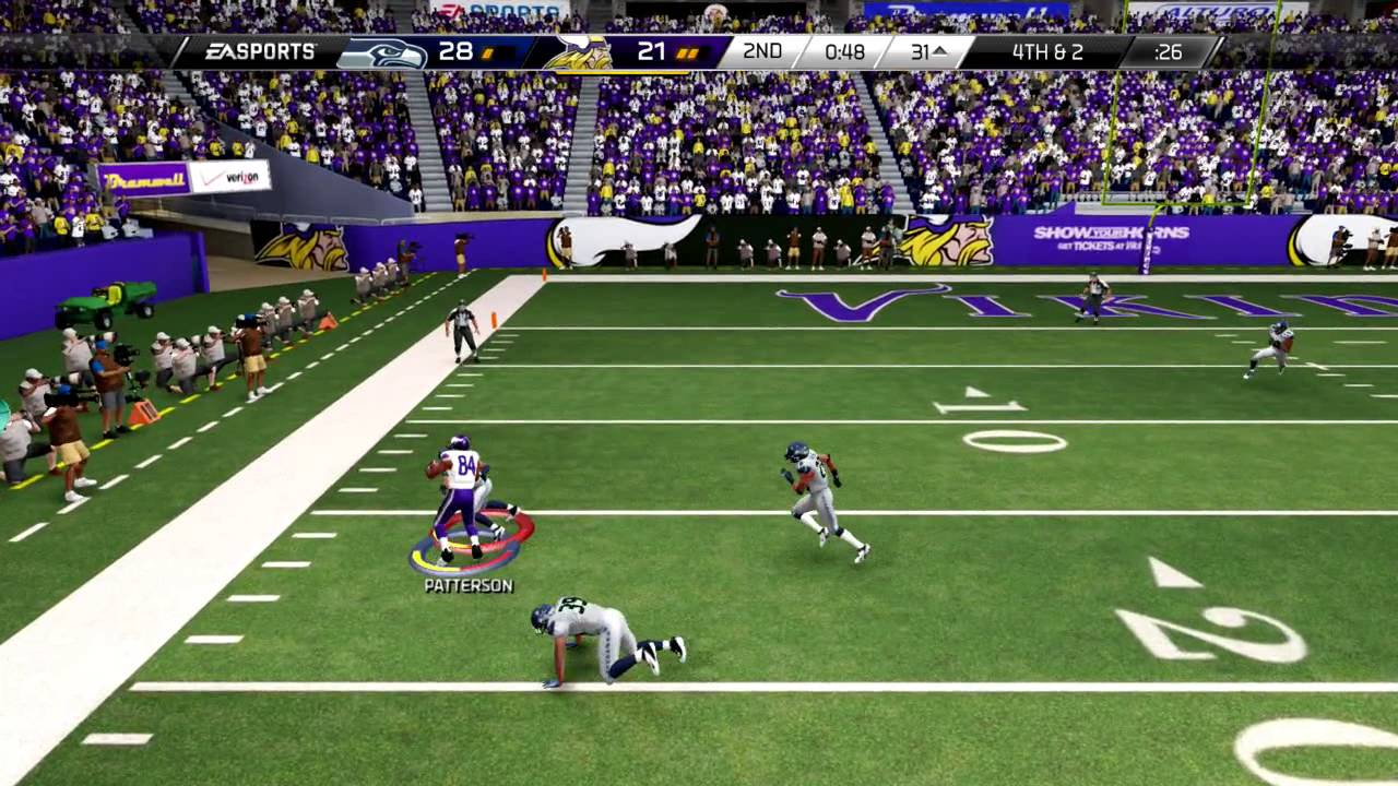 madden 25 xbox one gameplay would you break