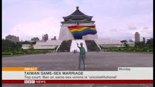 'Queer' Asia at the BBC on Taiwan Same-Sex Marriage Legislation