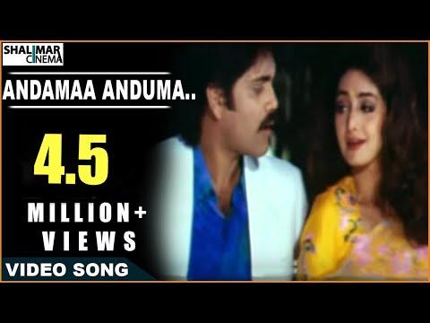 Govinda Govinda Movie   Andamaa Anduma Video Song   Nagarjuna...
