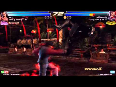 TEKKEN TAG2 UL 1/6 HAO VS ONLY PRACTICE