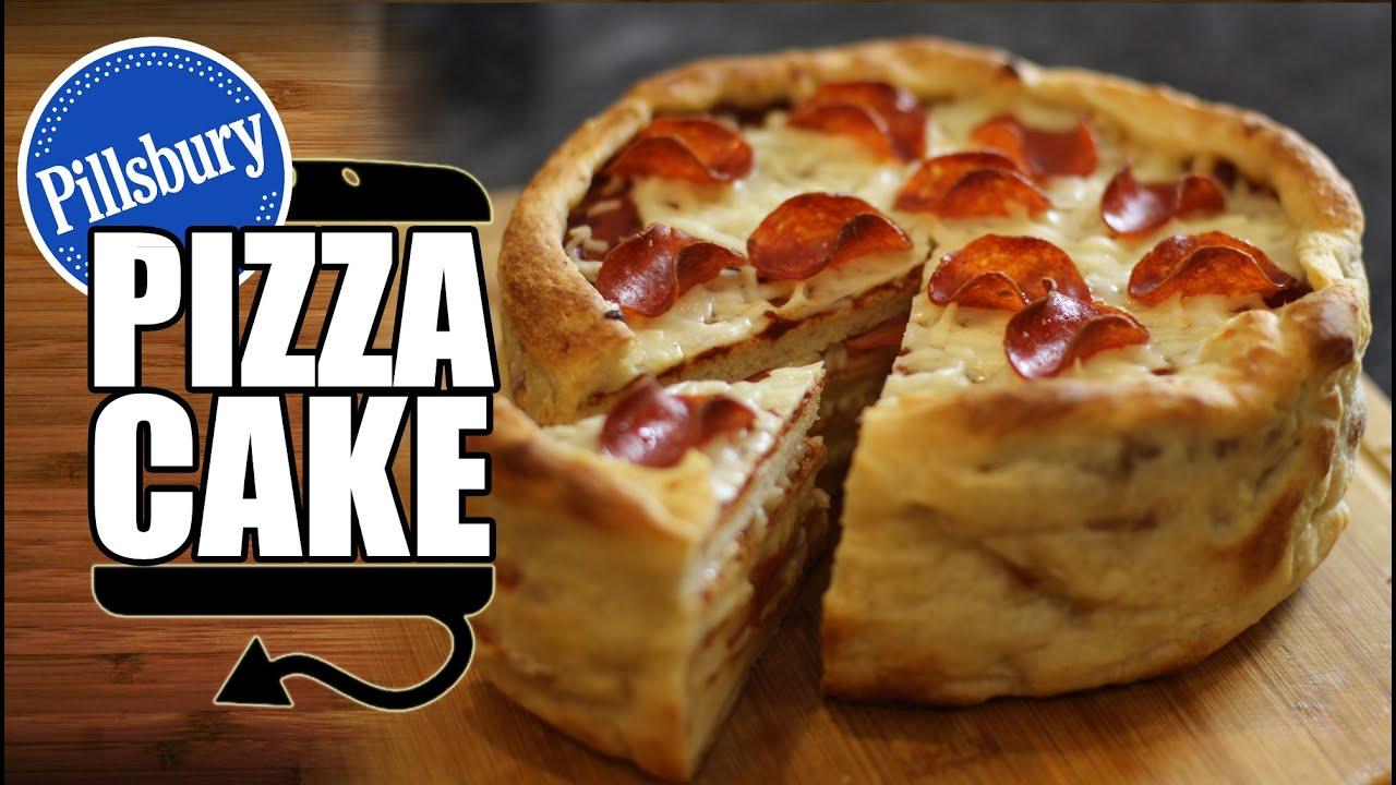 Pillsbury Birthday Cake Pizza