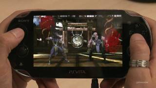 Mortal Kombat Vita long gameplay capture