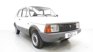 A Rare One Owner Seat Fura 900/L (Fiat 127) with Just 7,993 Miles from New. SOLD!