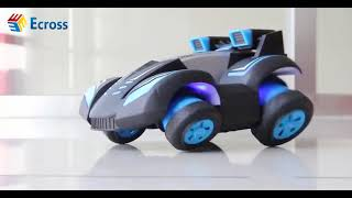 Remote control car charge cool light car four-wheel drive stunt