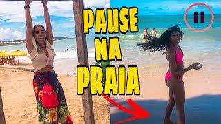 DESAFIO DO PAUSE COM MINHA IRMÃZINHA EM PÚBLICO