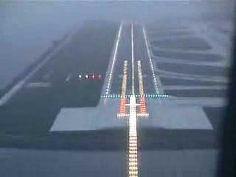 Hong Kong Airport Landing. Tags:HKG hong kong airport AB6