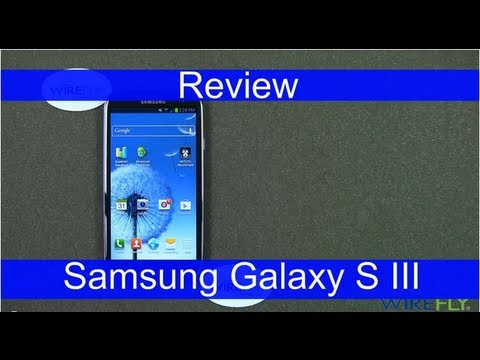 Samsung Galaxy S III Smartphone Review for T-Mobile