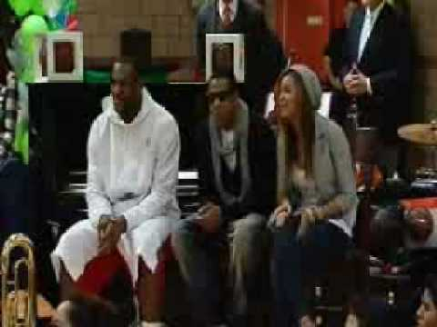 Kids performing for Jay-Z & Beyonce