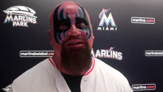 The Warlord talks WWE WrestleMania, Mr. Fuji at Legends of Wrestling at Marlins Park Aug. 2016