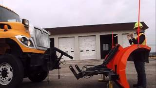B2B Safe Snow Plow Installationand Removal
