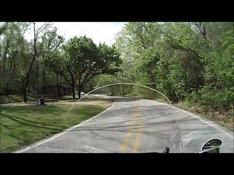 Detour through Withrow Spring Park 4-12-12 off AR-23.MP4.wmv
