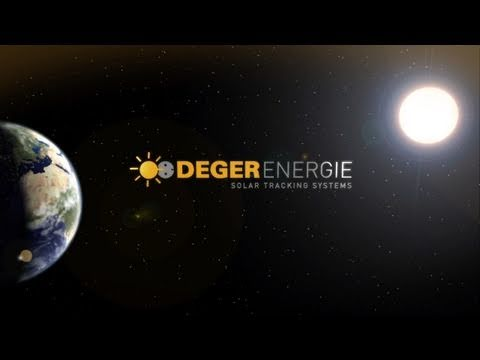 DEGERenergie - Solar Tracking Systems