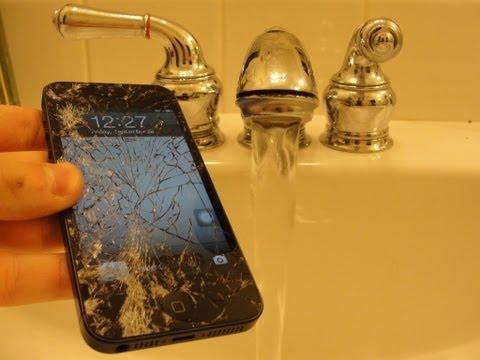 iPhone 5 Water Damage Drop Test -Episode #5-
