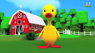 Lagu anak populer // lima anak bebek // five little duck