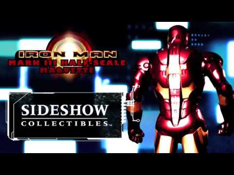 Marvel Iron Man Half-scale Maquette Teaser