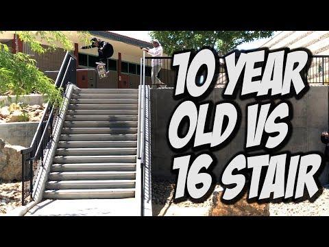 10 YEAR OLD Vs 16 STAIR Feat. NOBACEL - NKA VIDS  -