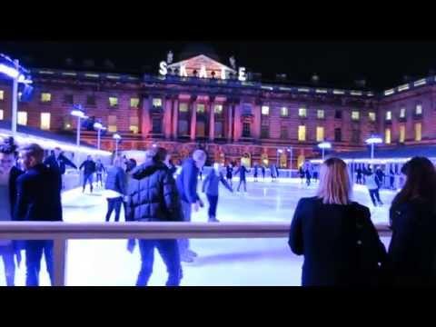 Somerset House Ice Skating Rink 2014 London