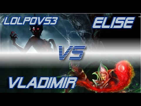 ► LoLPoV - Elise vs Vladimir [Top] (League of Legends Live Commentary)