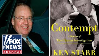 Ken Starr releases bombshell memoir on Clinton probe