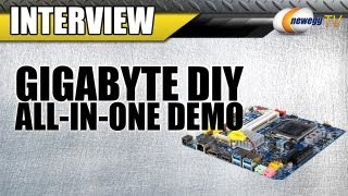 Newegg TV_ Gigabyte DIY All-in-One Computer & Thin Mini-ITX Demo