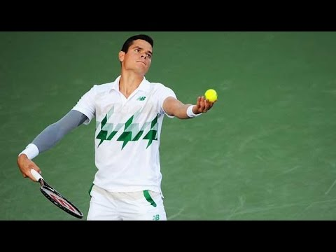 Milos Raonic Offers Tips on the Serve