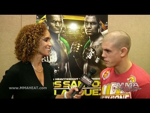 UFC 155: Joe Lauzon on Jim Miller Strategy, Bonus Money, Zombies + Beating Jamie Varner
