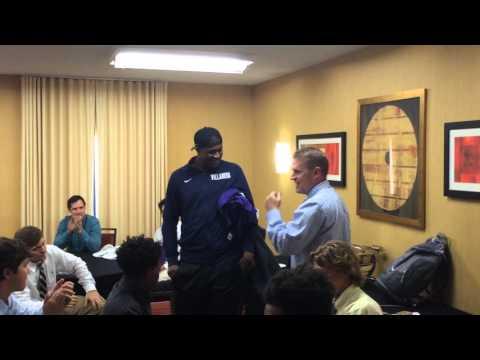 Gonzaga Sports #HailGonzaga Moment: Jenkins '13 surprises @GonzagaLacrosse (2016)
