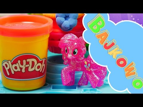 Babeczkowa Karuzela | Play-Doh & My Little Pony | Bajki dla dzieci