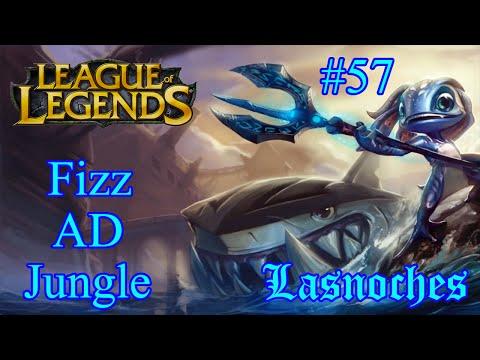 LNC - League Of Legends #57 [ Fizz AD ปลาน้อยฟามป่า ]