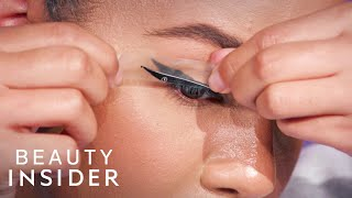 I Tried Eyeliner Strips That Claim To Give A Cat Eye In Seconds | Beauty Or Bust