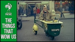 Bath on Wheels - Amazing Inventions | British Pathé