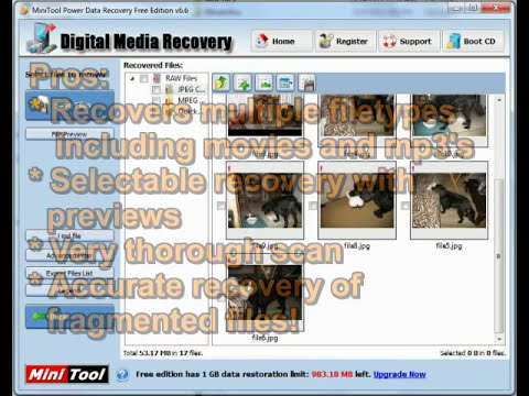 FREE Photo Recovery Software (No Kidding!): Top 8 SD SDHC memory card data and file recovery