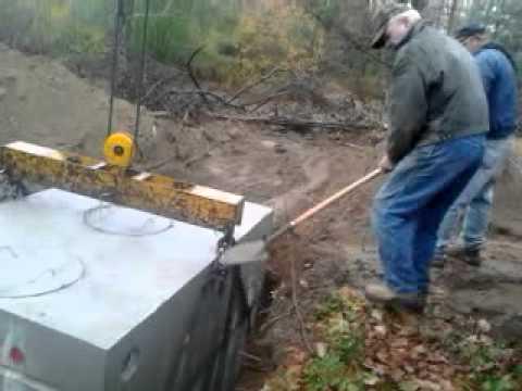 Watch Concrete Septic Tank Repair Leachfield Youtube