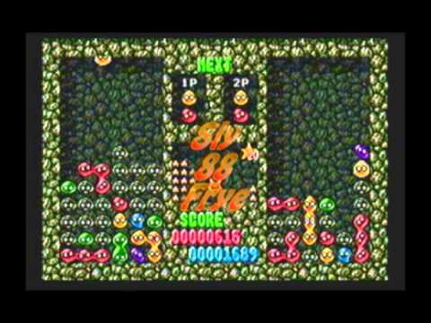 Dr Robotnik's Mean Bean Machine 2 Player Battle Nurf vs Sean 6